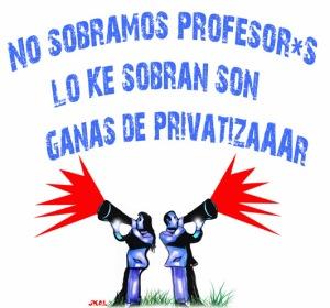 Por la enseñanza pública