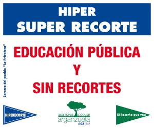 Educación pública y sin recortes