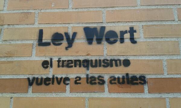LeyWERTfranquista